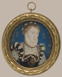 Queen Elizabeth I by Nicholas Hilliard, 1572