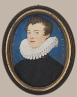Francis Bacon by Nicholas Hilliard, 1578