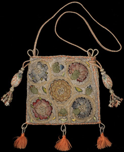 Elizabethan sweet bag, courtesy of the Burrell Collection © CSG CIC Glasgow Museums Collection