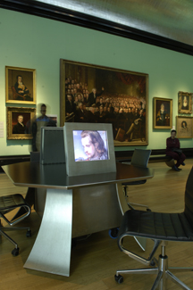 Portrait Explorer in The Regency Galleries - © Colin Streater