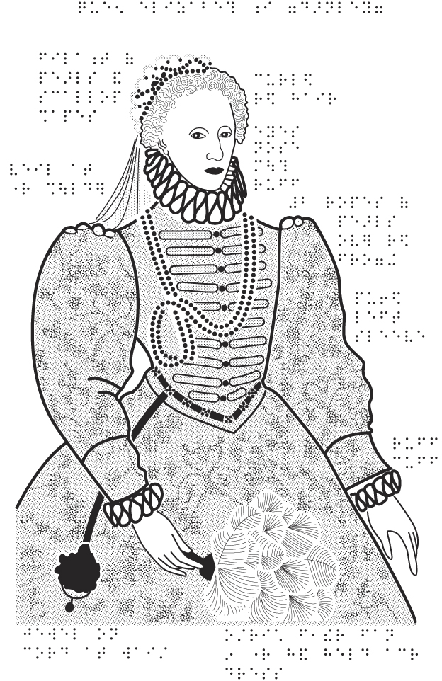 Line Drawing Of Queen Victoria : Elizabeth colouring sheets persona arena