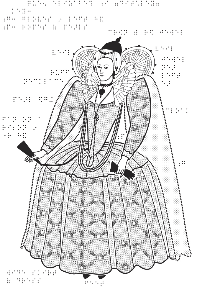 Line Drawing Queen : The tudors national portrait gallery