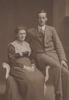 Beatrix Potter (Mrs Heelis); William Heelis by Clarence Edmund Fry & Son Purchased, 2013 NPG P1824