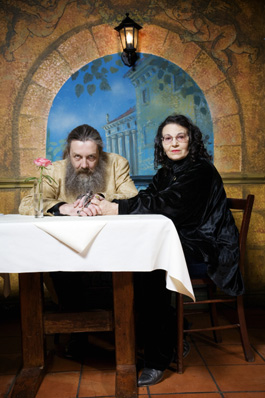 Alan Moore and Melinda Gebbie by Jonathan Worth (b.1972), C-type print, 6 February 2007