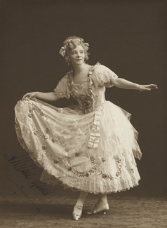 Dame Adeline Genée, by Bassano, 1916 - NPG x127510 - © National Portrait Gallery, London