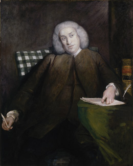 Samuel Johnson, by Sir Joshua Reynolds, c. 1756, NPG 1597