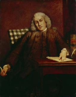 Samuel Johnson by Sir Joshua Reynolds