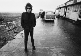 Bob Dylan by Barry Feinstein, Aust Ferry, 1966