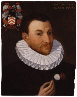 Unknown man of the Van Nierop family, formerly known as John Gerard (1545-1612)