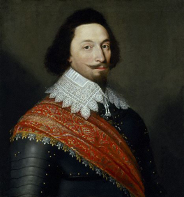 Unknown man, formerly known as George Villiers, 1st Duke of Buckingham (1592-1628) Attributed to Cornelius de Neve (before 1594-1678)