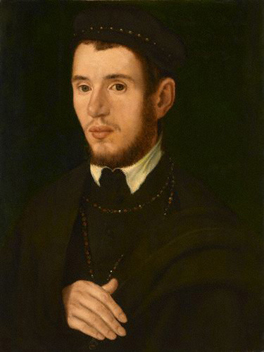 Unknown gentleman, formerly known as Thomas Howard, 4th Duke of Norfolk (1538-72) By an unknown artist