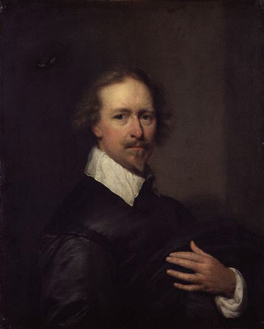 Unknown man, formerly thought to be a self-portrait By Cornelius Johnson (1593-1661)