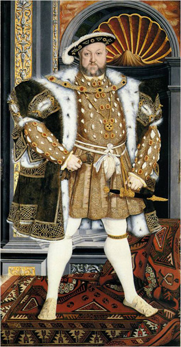 Henry VIII by Studio of Hans Holbein the Younger, 1540-1550 © National Trust images/Derrick E. Witty