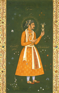 Shah Jahan as a Prince  Mughal by Abu'l–Hasan ('Nadir al–Zaman') c. 1617 © V&A Images/Victoria and Albert Museum, London