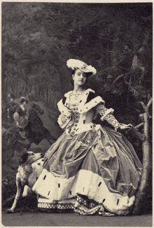 Adelina Patti as Harriet in Friedrich von Flotow's Martha, 1861, Private Collection, Paris