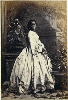 Sarah Forbes Bonetta, 1862 - &copy National Portrait Gallery, London