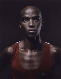 Mo Farah, By Kate Peters, 2012, © Kate Peters