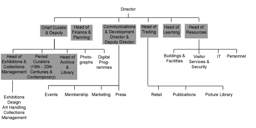 NPG Organisational Structure