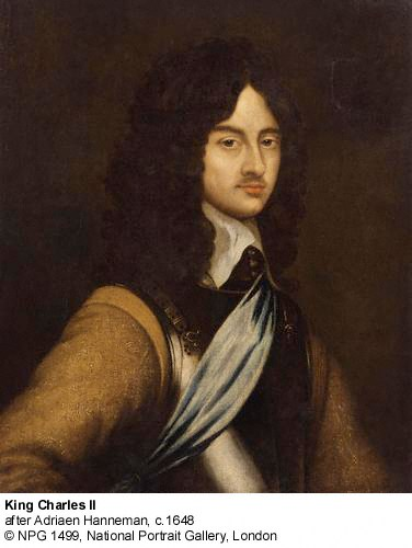 NPG 1449 - King Charles II
