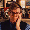 Alan Bennett  by Derry Moore, 12th Earl of Drogheda colour print, 1992, NPG P525