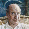 Bobby Charlton by Peter Edwards oil on canvas, 1991 NPG 6140