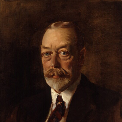 King George V by Sir Oswald Birley oil on canvas, circa 1933 NPG 4013