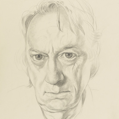 Michael Taylor by Michael Taylor pencil, 2011 NPG 6934