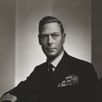 King George VI by Yousuf Karsh bromide print, 1943 NPG P490(36)