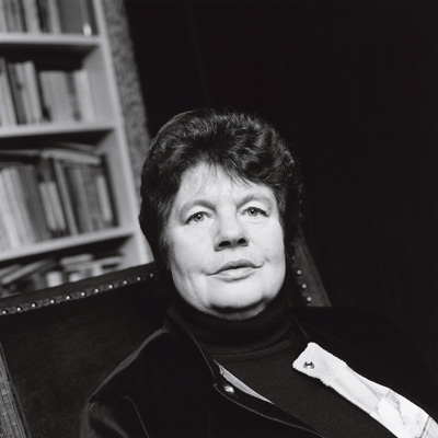 A.S. Byatt by Norman McBeath, bromide fibre print, 29 October 1997 NPG x126410