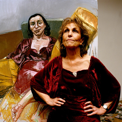 Paula Rego by Eamonn McCabe C-type colour print, 2004 NPG x131777