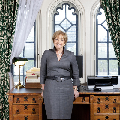 Margaret Eve Hodge by Nancy Honey digital pigment print on Hahnemuehle paper, 21 May 2012 NPG x137957