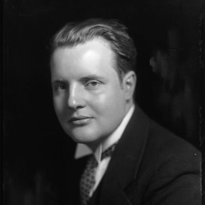 Constant Lambert by Bassano Ltd whole-plate glass negative, 9 May 1933 NPG x81190