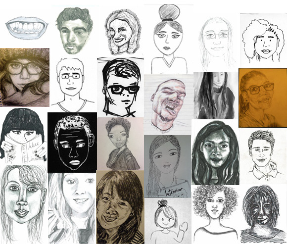 Young People - Self Portraits
