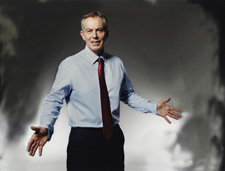 Tony Blair, 2009 by John Swannell © John Swannell