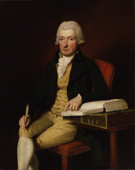Half-length format. Lemuel Abbott's William Cowper, 1792, 50 x 40 ins (127 x 101.6 cm) (National Portrait Gallery). Cowper wrote of this portrait, 'It is half-length, as it is technically but absurdly call'd: that is to say, it gives all but the foot and ankle'.