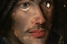 Detail of John Donne face