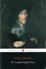 The front cover of the Penguin Classics 'John Donne: The Complete English Poems'