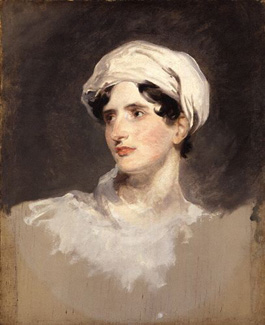 Lady Callcott by Thomas Lawrence, 1819 (National Portrait Gallery).