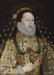 Queen Elizabeth I, by Unknown artist