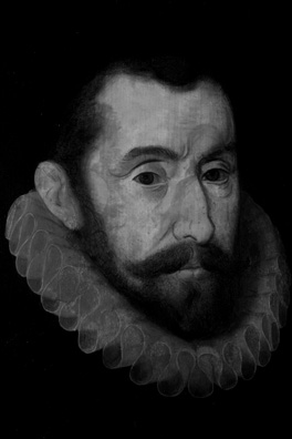 Sir Francis Walsingham, infrared photograph