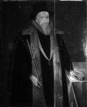 Thomas Sackville, 1st Earl of Dorset, Digital infrared reflectogram