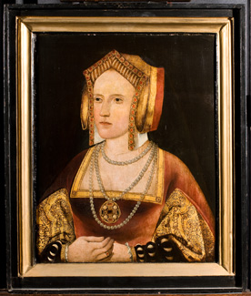 Catherine of Aragon, formerly called Catherine Parr, by kind permission of the Archbishop of Canterbury and the Church Commissioners