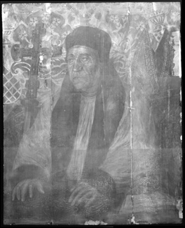 X-ray mosaic of the whole painting