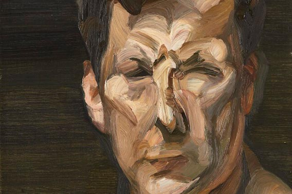 Lucian Freud (detail) by Lucian Freud © The Lucian Freud Archive / Bridgeman Images