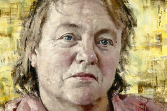 Mo Mowlam (detail) by John Keane © National Portrait Gallery, London