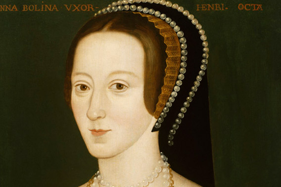 Making Art in Tudor Britain, painting of Anne Boleyn by Unknown artist