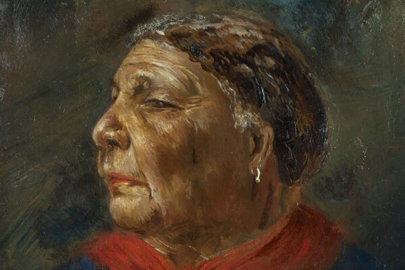Learning resources, painting of Mary Seacole by Albert Charles Challen