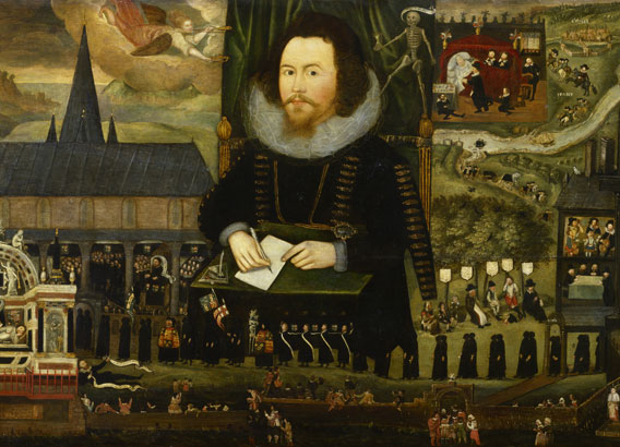 Sir Henry Unton by Unknown artist oil on panel, circa 1596 NPG 710 © National Portrait Gallery, London