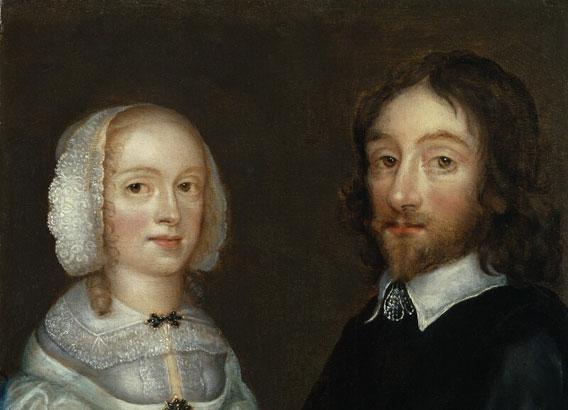 Early Stuart Portraits, portrait of Dorothy, Lady Browne (née Mileham); Sir Thomas Browne