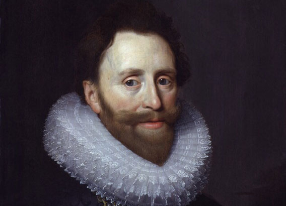 Dudley Carleton, Viscount Dorchester by Michiel Jansz. van Miereveldt oil on panel, circa 1620